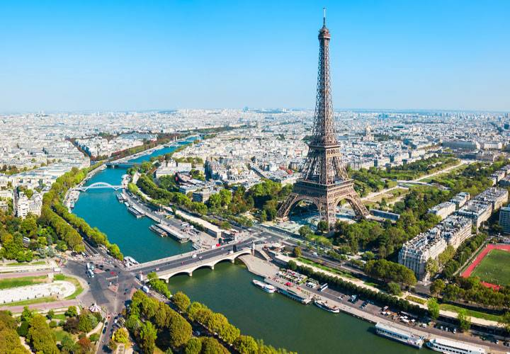 Paris, the most beautiful city in the world.